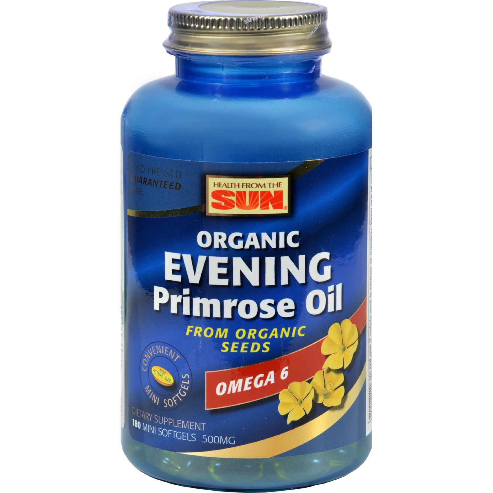 Health From The Sunn, Evening Primrose Oil, Omega-6, 500 mg