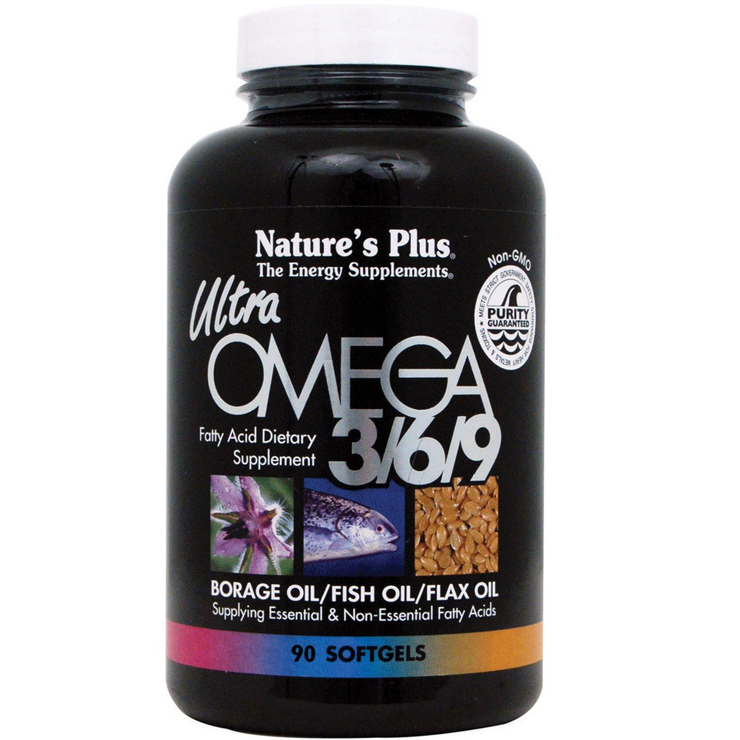 Nature's Plus, Ultra Omega 3-6-9